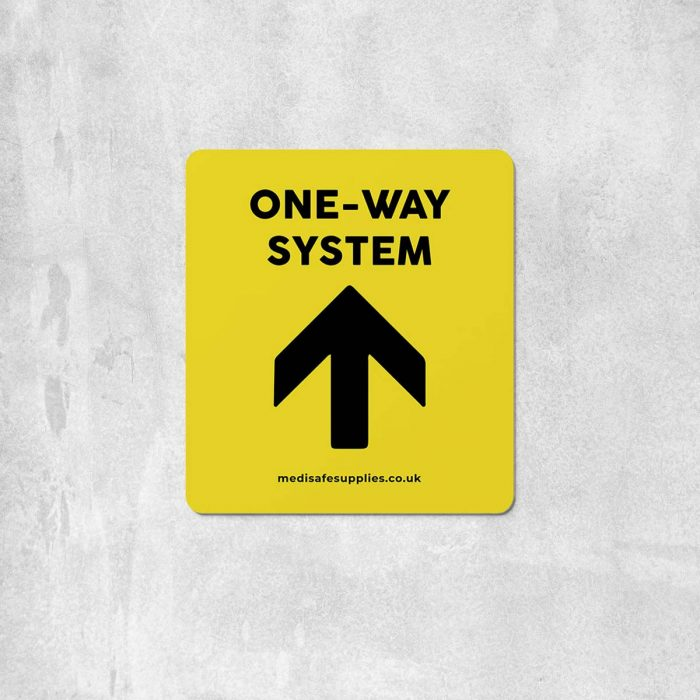 Arrow Floor Stickers   Social Distancing   One Way System Floor Stickers